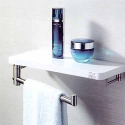 Shelf With Towel Ring