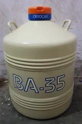 BA-35 LIQUID NITROGEN CONTAINER CRYOCAN