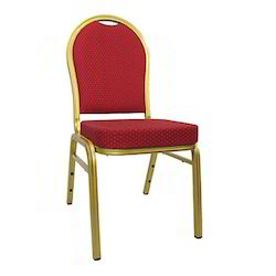 Banquet Stacking Burgundy Chair