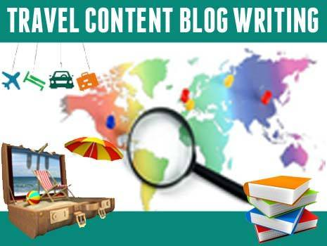Travel Content Blog Writing, Content Writing Service