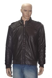 Men Leather Black Jackets
