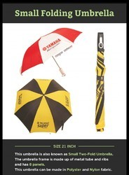 Red Polyester Promotional Umbrella