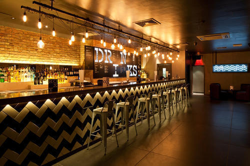 Interior Bar Design, Bar Design Services - JNS Design, Rajkot | ID ...