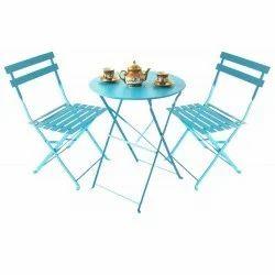 Deneb Metallic Folding Chair