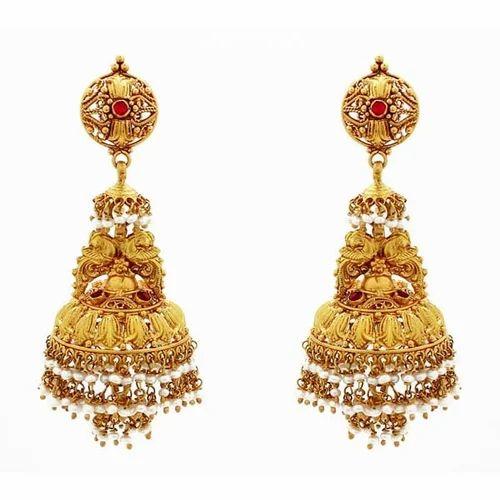 jhumka Gold Earrings Manufacturer from Siliguri