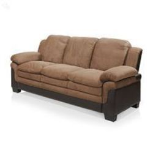 RoyalOak Rio Three Seater Sofa Brown