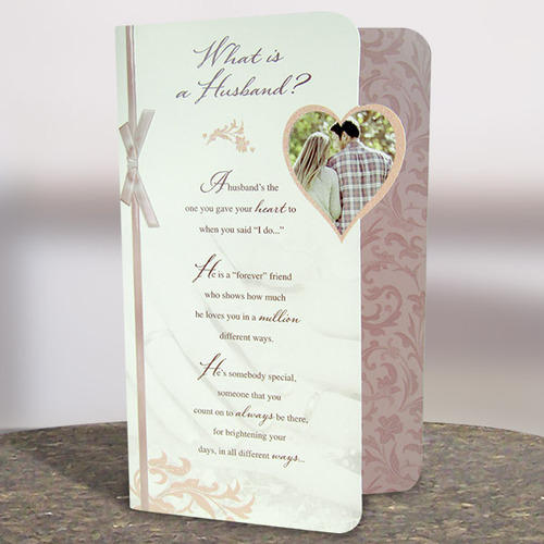 A Husband Is Greeting Card