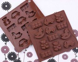 Cavity Different Shapes Chocolate