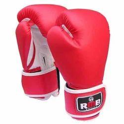 红色和白色人民币拳击手套,包装类型:包