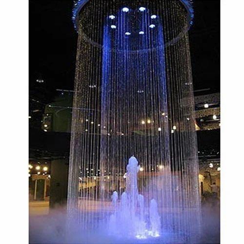 Glass String Rain Water Curtain Fountains String Water