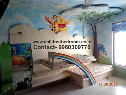 Kids Bedroom Wall Painting Children Bed Room Painting Services