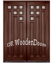 Double Wood Designer Door