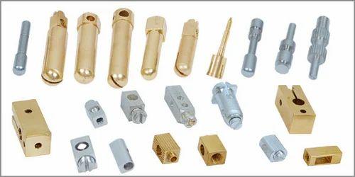 Brass Electrical Plug Pin  Brass Electronics Parts