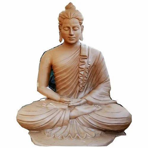 ceramic lord buddha statue rs 30000 piece shri krishna traders