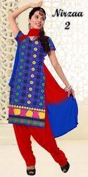 Dress Material Cotton Churidar Suit