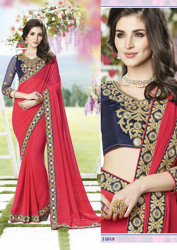 Designer Party Sarees At Rs 2019 Piece S Party Wear Saree फ स स ड P N Textiles Surat Id 11794910791
