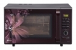 LG 28 Litres Convection Microwave Oven Black