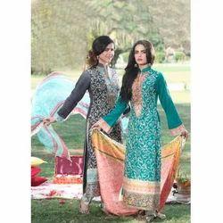 d60e4c9faa Multicolor Designer Pakistani Lawn Suit, Rs 700 /piece, BS Fashion ...