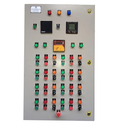 Variable Standard PLC Automation Panel, For Industrial