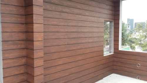 Cera Wood Elevation : External wall cladding fiber cement planks board