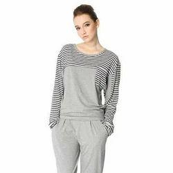 Gray Ladies Nightwear