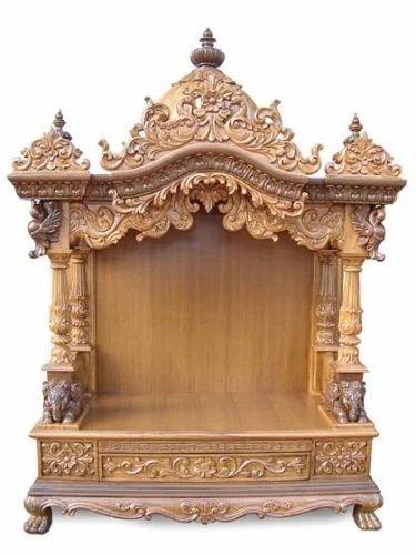 2c3822732 Wooden Home Temple, लकड़ी का मंदिर - Shree Vishnu ...