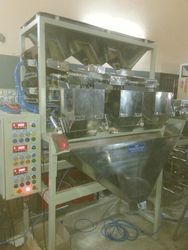 10KG Rice Filling   Semi Automatic Weigh Filling Machine