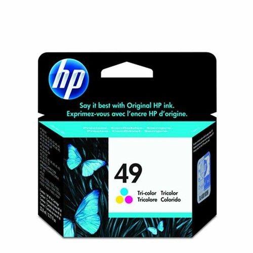 HP 49 Tri Color Inkjet Print Cartridge 51649AA