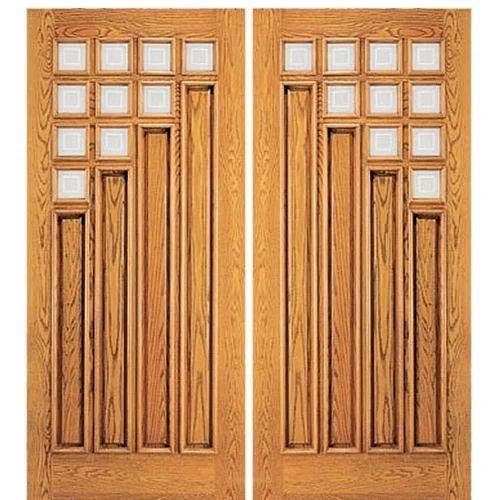 Swing Fancy Wooden Door Rs 3200 Sqft Design Wood Interiors Id