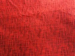 Red Dyed Jacquard Fabric