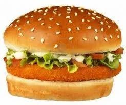 Frozen Mac n Cheese Burger Patty