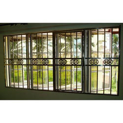 Kerala home window grill design homemade ftempo for Window grill design kerala