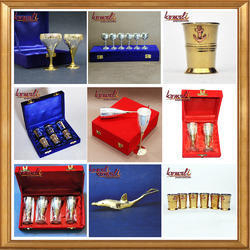 Handmade Silver Gold Plated Diwali Corporate Gifts