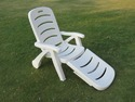 Folding Pool Lounger - Plastic