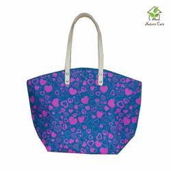 Jute Fancy Ladies Handbag