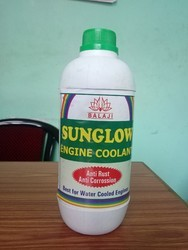 Green Synthetic Liquid Engine Coolant, Grade: Commercial Grade, Packaging Type: Bottle
