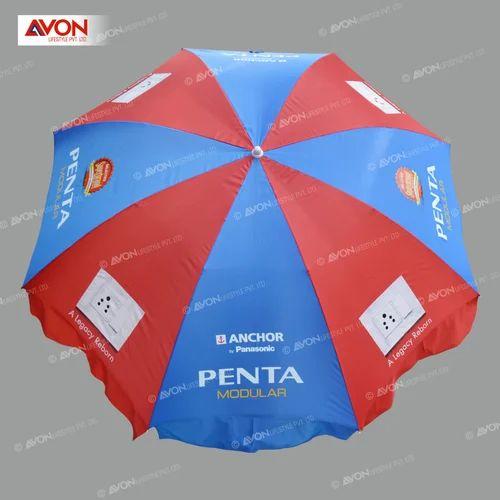 cb08491870152 Polyester Printed Multicolor Garden Umbrella, Diameter: 8 Feet, Rs ...