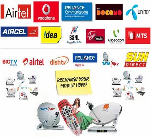 Mobile And Dish Recharge Software - Pay Ur Bills Dot In, Kolkata