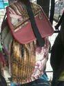 Polyester Printed Girls Fancy School Bag