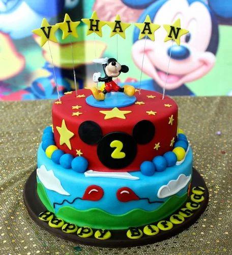 Kids Theme Customized 3D Cakes