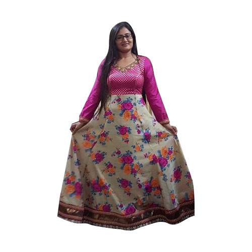 Printed Indo Western Gowns At Rs 8000 Piece Gandhinagar Id