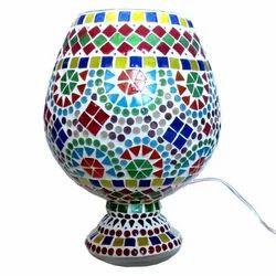 Glass Mosaic Work Lamp