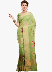 Embroidered Ethnic Sarees