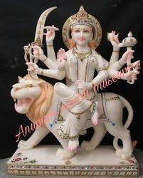 Durga Mata Marble Statues