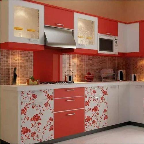Laminated Modular Kitchen At Rs 1400 Square Feet: Modular Kitchen Laminates At Rs 750 /square Feet