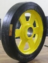 Rubber Bonded CI Wheel 12 x 2