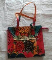 EP 9 Leather Screen Printing Bag