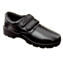 Kayvee Footwear Pvc Black Velcro School Shoes, Features: Waterproof