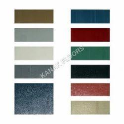 Plain POLY FLOOR CHALLENGER PVC Vinyl Flooring
