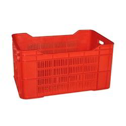 Stackable Plastic Crates
